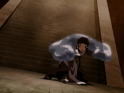 Katara ready to strike