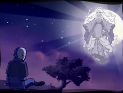 Aang in Escape from the Spirit World