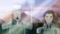 Smug Baatar Jr. and neutral Kuvira.png