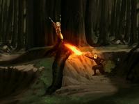 Zuko rejects Aang