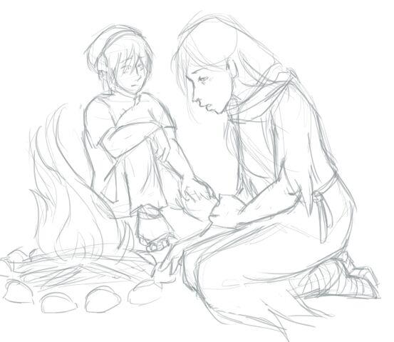 File:Guifu and toph campfire.jpg