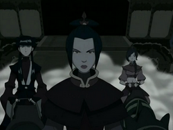 Azula, Ty Lee, and Mai