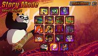 Super Brawl 3 character selection