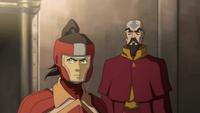 Korra and Tenzin arguing