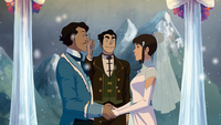 Varrick and Zhu Li's wedding
