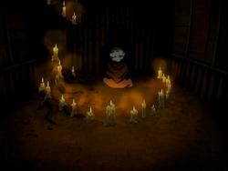 Jeong Jeong meditating