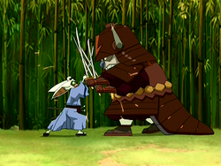 Appa and Momo fighting