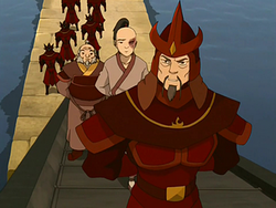 Azula's ship captain