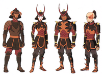 Pilot - Fire Nation soldiers