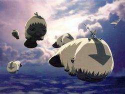Sky bison concept art