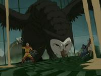 Wan Shi Tong attacks
