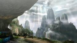 Monster Hunter landscape