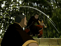 Piandao fights Sokka
