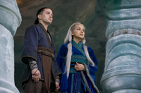 Film - Sokka and Yue together