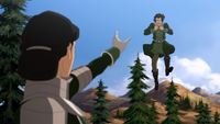 Kuvira threatens Varrick