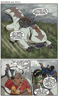 Divided We Fall page one