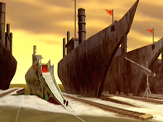Berkas:Zuko's ship at the Earth Kingdom harbor.png