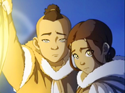 200px-Sokka and Katara