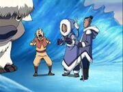 Team Avatar first Greet