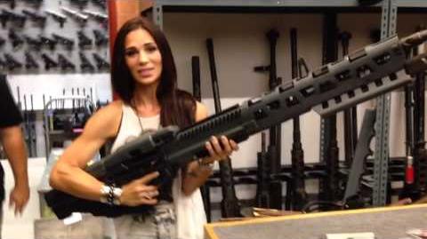 Amy Jane & the massive AVATAR port machine gun