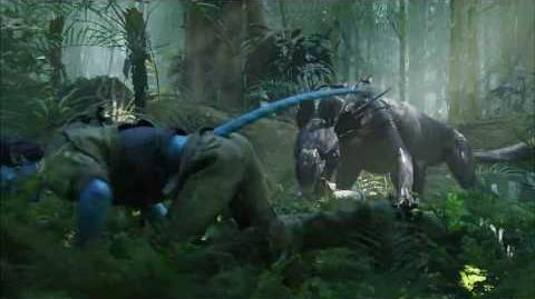 Scene From Avatar, Thanator Chase.-0