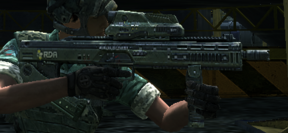Barro Assault rifle