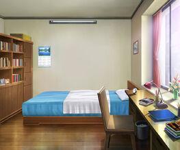 Soe game background asumi dorm room by dharker-d6efale