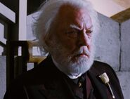 Donald Sutherland as President Snow (THG)