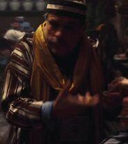 Nayef Rashed as Moroccan Market Vendor