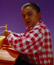 Deep Roy as Oompa Loompas (Red Rock 'Em Sock 'Em Player)