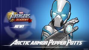 Arctic Armor Pepper Potts Event