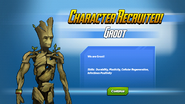 Character Recruited Groot