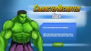 Character Recruited Hulk