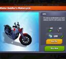 Winter Soldier's Motorcycle