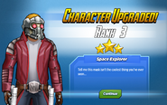 Character Upgraded! Star-Lord Rank 3