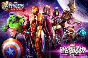The Avengers Guardians team up Academy