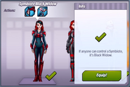 Symbiote Black Widow