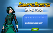 Character Recruited! Madame Hydra