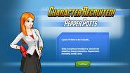 Character Recruited Pepper Potts