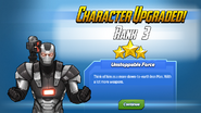Character Upgraded! War Machine Rank 3
