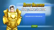 Outfit Unlocked! Hydro Armor Iron Man