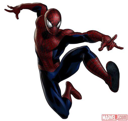 File:Amazing Spider-Man Portrait Art.jpg