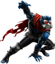 Beast-Horseman of Pestilence