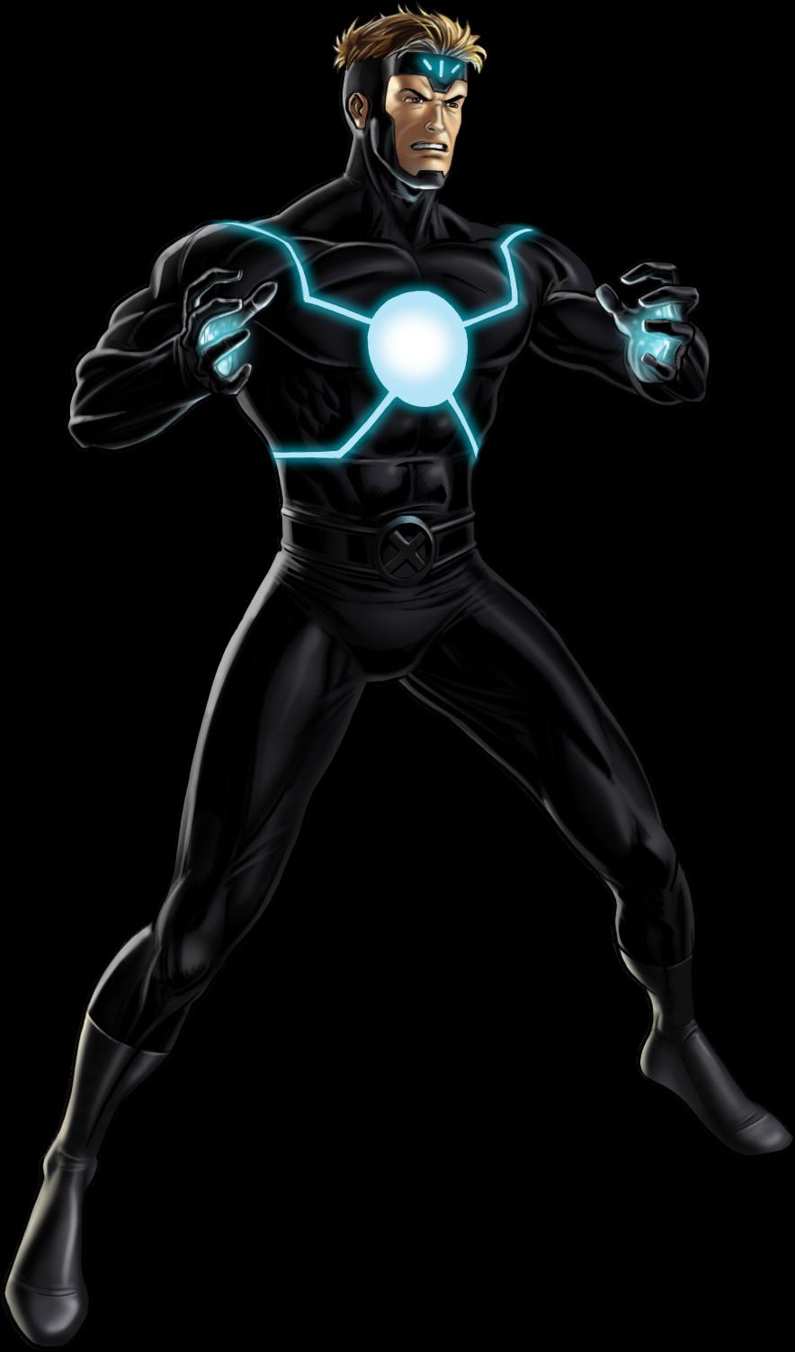 Image Havok Portrait Art Png Marvel Avengers Alliance