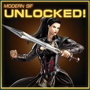 Sif Modern Armor Unlocked