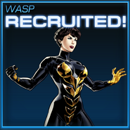 Wasp Recruited