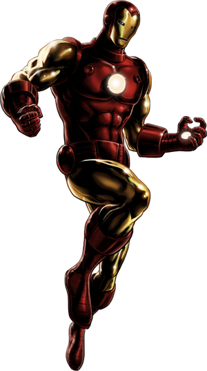 Iron Man Mk V Armor Portrait Art