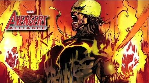 IRON FIST's Moves Set - Marvel Avengers Alliance - Conjunto de Movimientos de Puño de Hierro - Rand