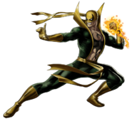 Iron Fist Right Portrait Art