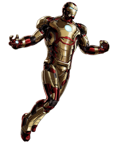 File:Iron Man Mk 42 Armor Portrait Art.png
